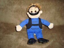 "Marineland Trainer in Scuba gear Plush & Beans Doll 10"""