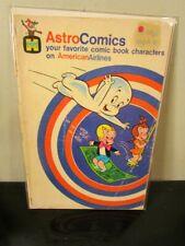 ASTRO COMICS AMERICAN AIRLINES HARVEY COMICS CASPER RICHIE RICH 1979~
