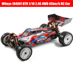 Wltoys 104001 RTR RC Cars  1/10 2.4G 4WD 45km/h Metal Chassis Vehicles Off-Road