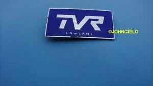 RARE ORIGINAL TVR badge Griffith Grantura Vixen Tuscan vintage emblem