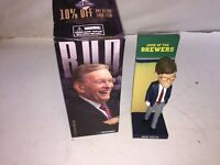 Bud Selig 2015 Milwaukee Brewers Bobblehead in Original Box