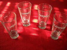 CAMPARI 4 bicchieri  cocktail