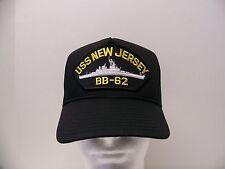 #1623 US NAVY USN USS NEW JERSEY  Ballcap Cap Hat