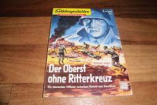 SOLDATENGESCHICHTEN Sonderband # 1 -- der OBERST ohne RITTERKREUZ // 1958