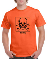 TOXIC Chemical Symbol Funny Heavy Cotton t-shirt ALL SIZES SMALL - XL