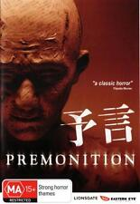 PREMONITION – JAPANESE HORROR MOVIE (DVD) R-4, NEW, FREE SHIPPING AUSTRALIA WIDE
