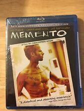 Memento Blu-ray 10th Anniversary Special Edition Guy Pearce Christopher NolanNEW