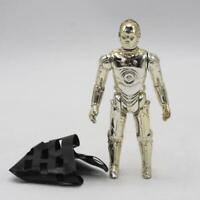 Vintage Star Wars C-3PO Complete Action Figure Removable Limbs w/ Net No COO