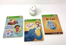 LeapFrog 2008 TAG JUNIOR + 3 books with white reader book leap frog education