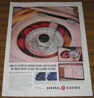 1955 VINTAGE AD~GE FILTER-FLO WASHERS~CLEANER CLOTHES