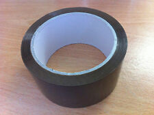 6 Rolls Brown Packaging Parcel Tape Long 48mm x 66m High Quality Tape Cheap
