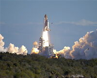 New 8x10 NASA Photo: Final Launch of Space Shuttle Columbia, Mission STS-107