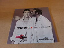 EURYTHMICS - PEACE IS JUST A WORD - SUNDAY TIMES - BGM SM52 !RARE CD COLLECTOR!