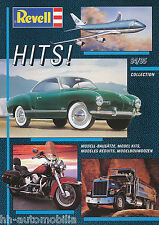 Catalogo REVELL Hits 1994 1995 brochure Model Cars ships PLANES opuscolo catalogo
