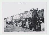 NICE Vtg, 1956 Real Photo Union Pacific Railroad 4-6-6-4 Steam Train Locomotive