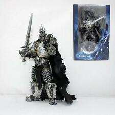 """World of Warcraft WOW The Lich King Arthas Menethil Action Figure Toy Boxed 7"""""""