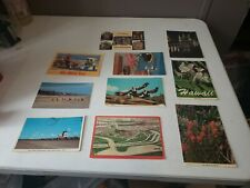 Lot of 10 Vintage Postcards Scenery Landmarks Cities Outdoor Chrome (105)