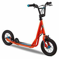 New listing Mongoose Trace Air Kick Scooter, Orange