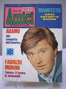 Ciao Amici n°36 del 5 settembre 1967 - rivista settimanale per giovani - vintage