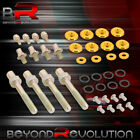 For B16 B18 B-series Valve Cover Washer Seal Bolt Nut Kit Racing Aluminum Gold