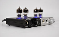 ZHILAI D1 HiFi Headphone Amplifier Tube Preamp  Chip 7022 6J9-J tube 16bit/24bit