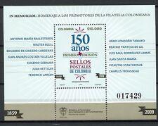 Kolumbien Colombia 2009 150 Jahre Briefmarken Stamps Block 76 Postfrisch MNH