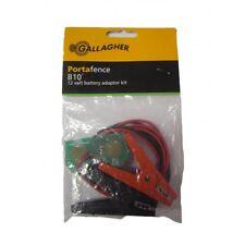 Gallagher B10 Porta clôture 12 V Batterie Adaptateur