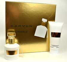 L'Absolu by Carven  Perfume  50ml EDP Spray + 100ml Body Milk  GIFT SET  NEW