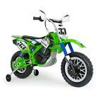 Injusa Electric Rideon Kawasaki Thunder Max VX Bike 6v Green 3 yrs+  Auto Brake