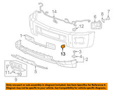 Chevrolet GM OEM Silverado 2500 HD Front Bumper-Park Sensor Bracket 23276812