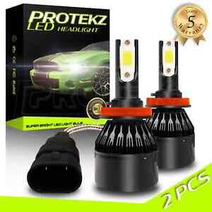 9006 HB4 LED Headlight Kit Direct Fit Bulbs Cooling Fan 800W 120000LM 6500K