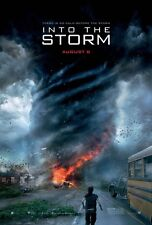 Into The Storm DOUBLE SIDED ORIGINAL MOVIE POSTER Richard Armitage Tornadoes
