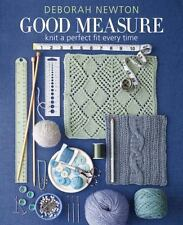 Good Measure : Knit a Perfect Fit Every Time by Deborah Newton (2015, Hardcover)