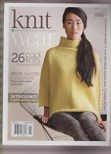 KNIT WEAR MAGAZINE SPRING/SUMME 2014,SIMPLE HANDKNITS FOR THE THOUGHTFUL KNITTER