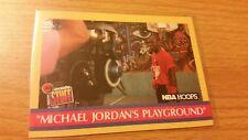 Michael Jordan 90-91 Hoops #382   Jordans Playground