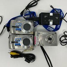 Panasonic Lumix DMC-TZ3 10x Optical Zoom & HP Photosmart R717 L2038A Cameras