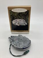 1996 Hallmark Keepsake Star Wars Millennium Falcon Magic Light Ornament
