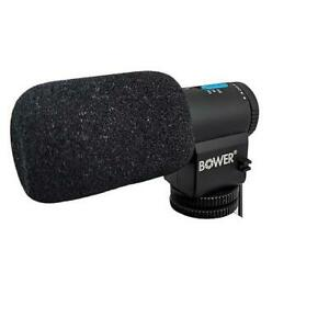 Bower MIC200 Professional On-camera Microphone Fit Canon Nikon Sony Olympus