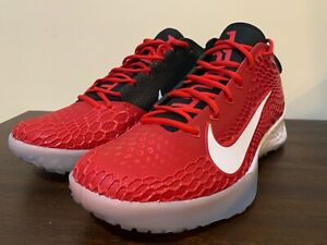 Nike Force Zoom Trout 5 Baseball Turf Shoes AH3374-601 Red Mens Size 11.5