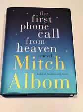MITCH ALBOM SIGNED The First Phone Call From Heaven 2013 BOOK First Edition