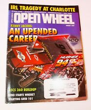 OPEN WHEEL Magazine August 1999 - Kenny Jacobs, IRL at Charlotte, Billy Boat
