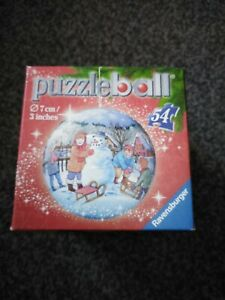 Christmas Puzzle Ball Ravensburg Jigsaw Puzzle Christmas Bauble 54 Pieces Bauble