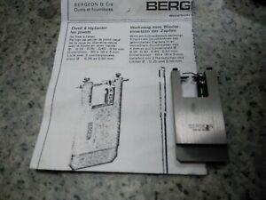 Uhrmacherwerkzeug Bergeon 6236 Werkzeug zum einsetzen von Zapfen