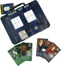 *NEW* Dr Doctor Who TOP TRUMPS TARDIS Collector's Tin + 60 Cards - Card Game