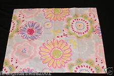 Jumping Beans Flower Standard Sham pink yellow floral nwop #142