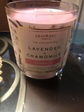 Fragrant Jewels Serenity Lavender Chamomile Candle with ring. Nib!Ring size 5