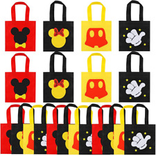 20 Pcs Mouse Favor Bags, Treat Candy Goodie Gift Non-woven Bags Reusable for Bab