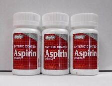 Rugby EC Aspirin 325mg 100ct Tablets-3 Pack  -Expiration Date 02-2019-