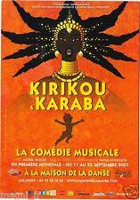 Publicité - cpsm - Comédie musicale KIRIKOU ET KARABA ( i 5371)