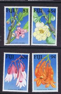 FIJI 1988 FLOWERS SG 782/785 UNMOUNTED MINT/ NEVER HINGED